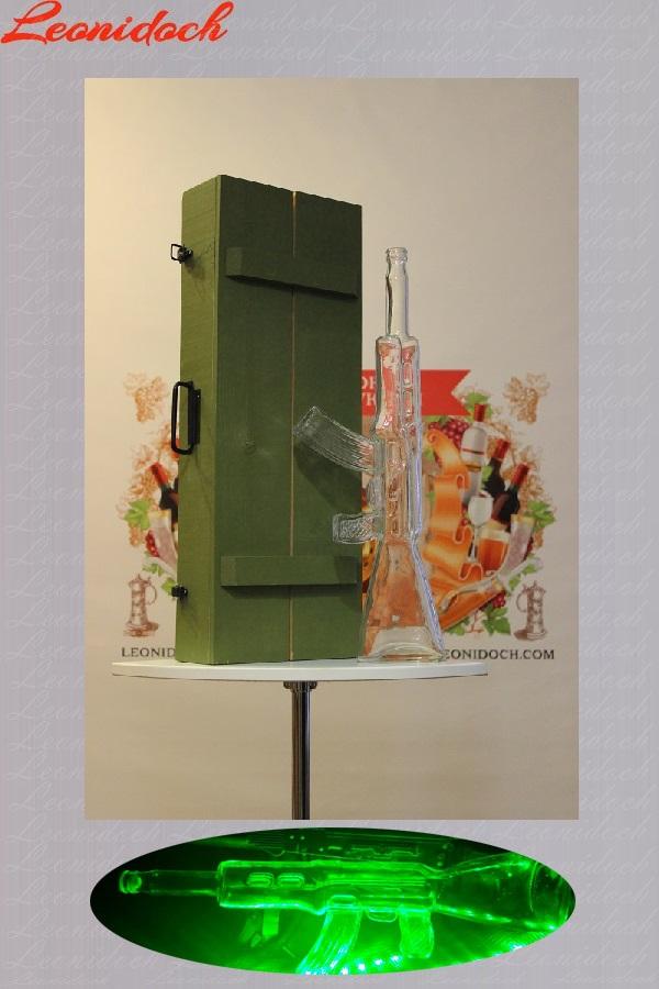 Бутылка сувенирная  Автомат