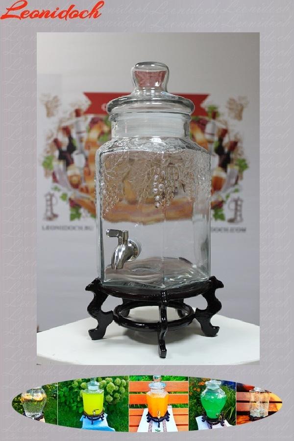 Лимонадник (банка стеклянная УГ/5 л.)