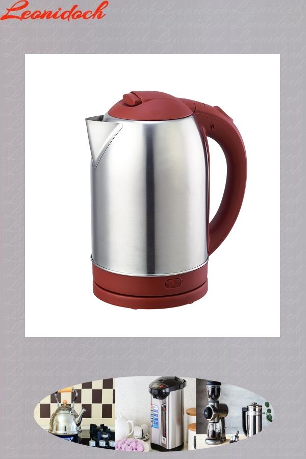 Чайник эл DO-1232 (2,0л) 1800Вт нжс, красн.пл