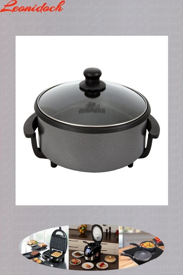 Эл.сковорода DO-1604 (32см) 7 см глубина