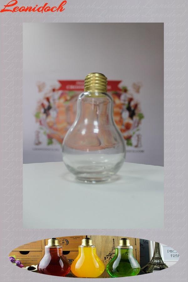 Бутылка стеклянная лампочка 0,25 л