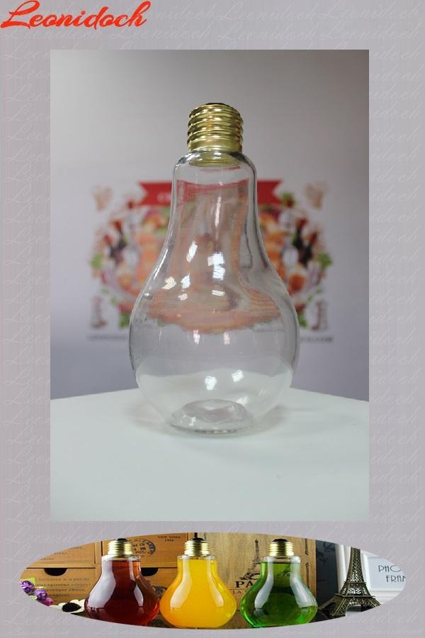 Бутылка стеклянная лампочка 0,75 л